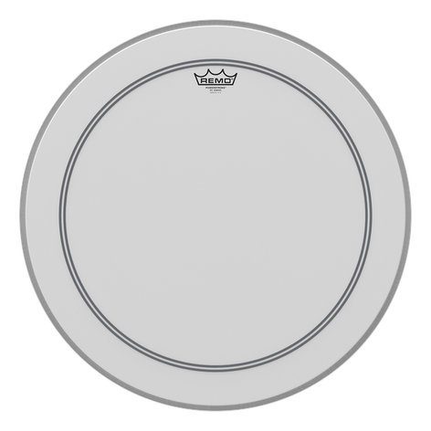 "Remo P30114-C2 14"" Coated Powerstroke 3 Batter Drum Head with Clear Dot on Top P30114-C2"