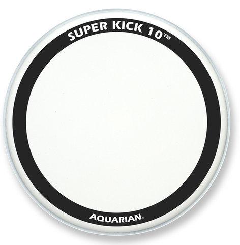 "Aquarian Drumheads TCSK10-22 22"" Super-Kick 10 Coated Bass Drum Head TCSK10-22"