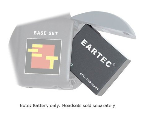 Eartec Co LX600LI  3.7V Lithium-ion Rechargeable Replacement Battery for The HUB and UltraLITE Series LX600LI