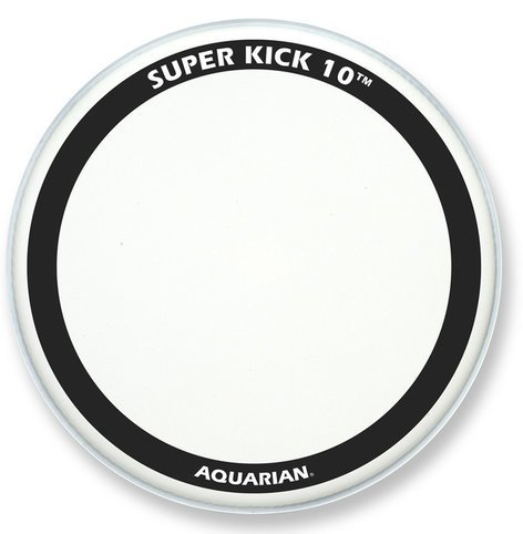"Aquarian Drumheads TCSK10-24 24"" Super-Kick 10 Coated Bass Drum Head TCSK10-24"