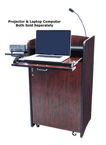 AmpliVox SS3230 Multimedia Computer Lectern with Microphone SS3230
