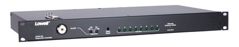 Lowell SEQR-8K  1RU 8-Step Power Sequencer with Key Switch SEQR-8K