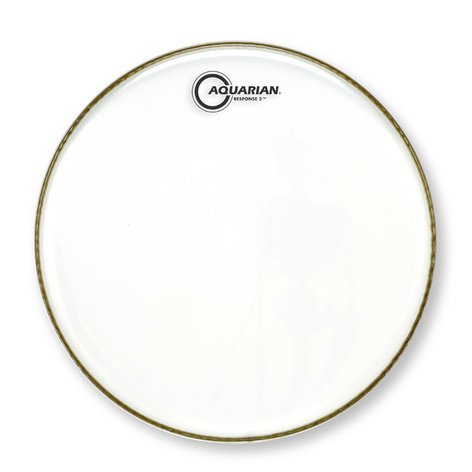"Aquarian Drumheads RSP2-24 24"" Response 2 Clear Bass Drum Head RSP2-24"