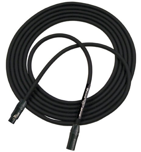 RapcoHorizon Music HOGM-3.K  3 ft Roadhog Microphone Cable HOGM-3.K
