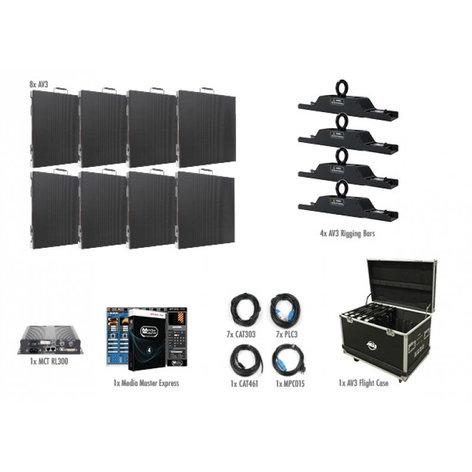 ADJ AV3 4x2 8 Panel 4x2 AV3 Video Wall Package AV3-4X2