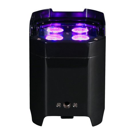 ADJ Element Hex 4x10w RGBAW+UV LED Uplight with WiFly and Li-On Battery ELEMENT-HEX