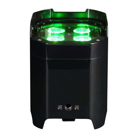 ADJ Element HEXIP 4x10w RGBAW+UV IP Rated LED Uplight with WiFly and Li-On Battery ELEMENT-HEX-IP