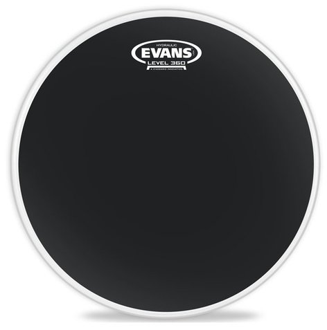 "Evans BD22HBG 22"" Hydraulic Drum Head in Black BD22HBG"