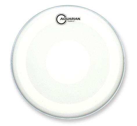 "Aquarian Drumheads TCSXPD14 14"" Studio-X Coated Drum Head with PowerDot TCSXPD14"