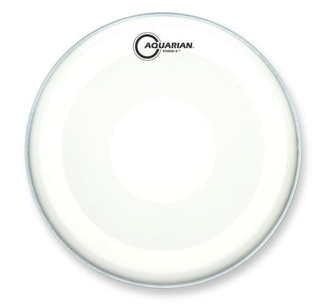 "Aquarian Drumheads TCSXPD16 16"" Studio-X Coated Drum Head with PowerDot TCSXPD16"