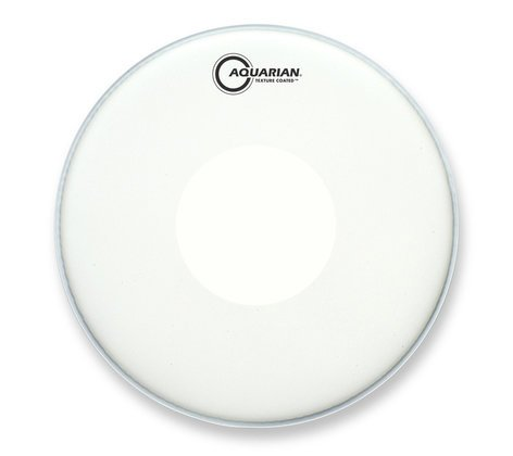 "Aquarian Drumheads TCPD12 12"" Texture Coated Drum Head with Power Dot TCPD12"