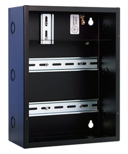 """Pathway Connectivity P1108 eDIN System Enclosure with Two 9"""" Horizontal DIN Rails P1108"""