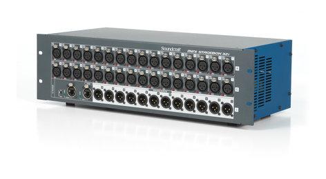 Soundcraft MINI-STAGEBOX-32I  Compact 32x12 Digital Stagebox with Remote Controlled I/O MINI-STAGEBOX-32I
