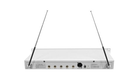 Pyle Pro PDWM5500 Rack-Mountable 4-Channel, 4-Microphone VHF Wireless System PDWM5500