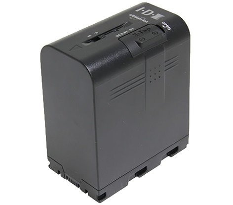JVC SSL-JVC75  55Wh, 7.4V Lithium-Ion Battery for GY-HM200/600/650/LS300, DT-X Monitors SSL-JVC75