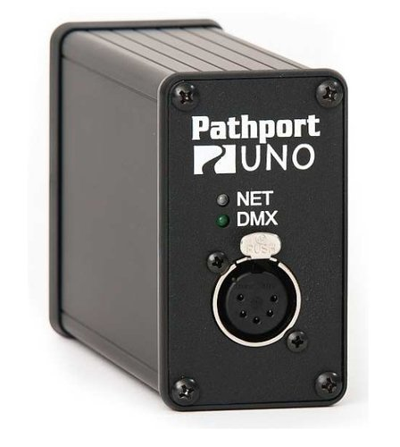Pathway Connectivity P6152 Pathport Portable UNO Gateway with Single XLR5-F Output P6152