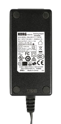 Korg 405016000 AC Adapter for X50, R3, and MR1000 405016000