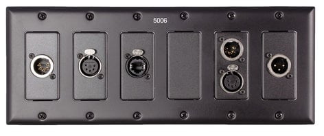 Pathway Connectivity 5006 Six Gang Faceplate P5006