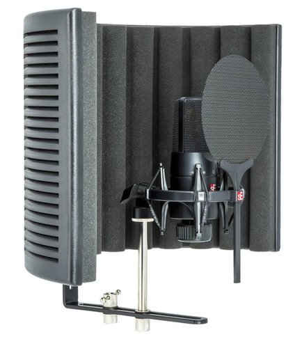 SE Electronics SEE-X1SSB X1 S Studio Bundle X1 S LDC with Shock Mount, Pop Filter, RF-X Reflexion Filter, and Cable SEE-X1SSB