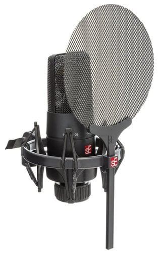 SE Electronics SEE-X1SVP  X1S LDC with Shock Mount, Pop Filter, and 3-meter Cable SEE-X1SVP
