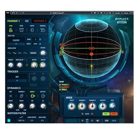 Waves Brauer Motion [DOWNLOAD] Spherical Auto Panner BRERMOT