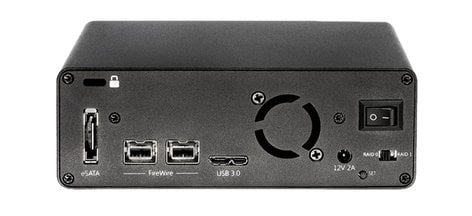 Glyph Technologies SRM10000B 10TB Glyph Studio RAID mini, USB 3, FW800, eSATA SRM10000B