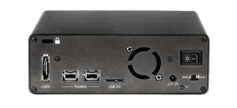 Glyph Technologies SRM8000B 8TB Glyph Studio RAID mini, USB 3, FW800, eSATA SRM8000B