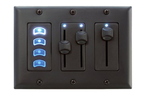 Pathway Connectivity 700-5902 NSB - Four Button Slave Insert P700-5902