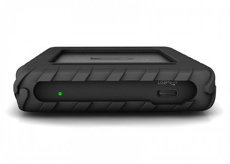 Glyph BBPLSSD7600 Blackbox Plus 7.6TB Bus-Powered SSD, USB-C (3.1, Gen2) BBPLSSD7600