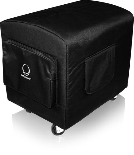 "Turbosound TS-PC15B-2  Deluxe Water Resistant Protective Cover for 15"" Subwoofers, including iQ15B with Castors TS-PC15B-2"