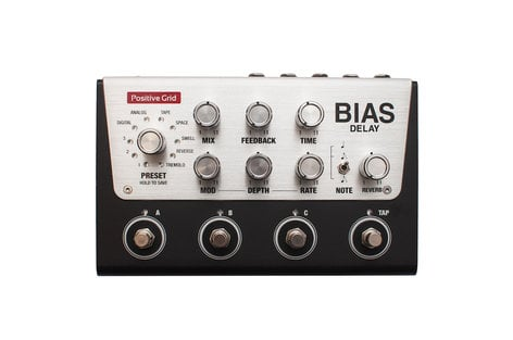 Positive Grid BIAS Delay Delay Pedal with BIAS Pedal Delay Pack Software BIAS-DELAY