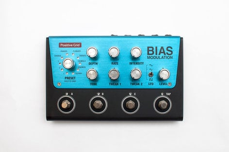 Positive Grid BIAS-MODULATION BIAS Modulation Modulation Pedal with Software Included BIAS-MODULATION