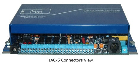 Circuitwerkes TAC-5  Telephone Remote Broadcast Coupler with DTMF Control & Password Security TAC-5