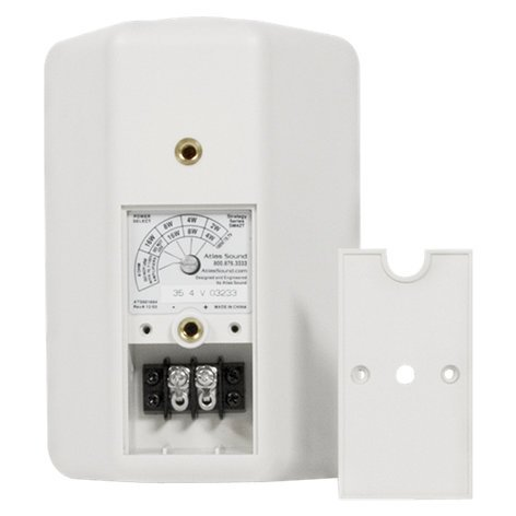 """Atlas Sound SM42T-WHITE 2-Way 4"""" Speaker with White Finish SM42T-WHITE"""
