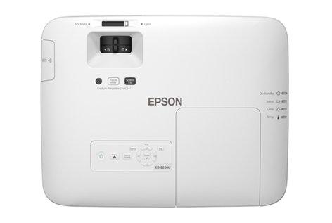 Epson PowerLite 2265U 5500 Lumen Wireless Full HD WUXGA 3LCD Projector with Lens POWERLITE-2265U