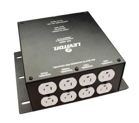 Leviton N4600-000 4-Channel 600 W/Ch Microplex 120V Dimmer Pack N4600-000