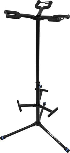 Ultimate Support JS-HG103C  JamStands Series Triple Hanging-Style Guitar Stand with Blue Accent Bands JS-HG103C