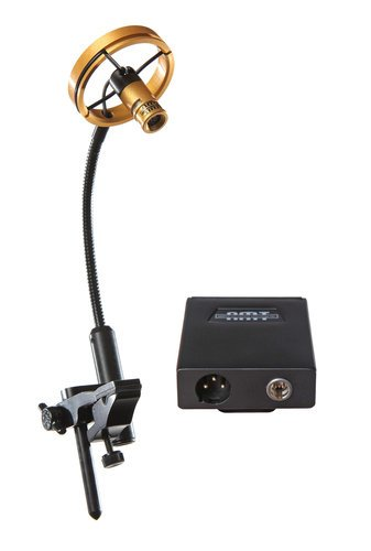 Applied Microphone (AMT) P808  Bell-Mounted Microphone for High Sound Pressure Levels with BP45 P808