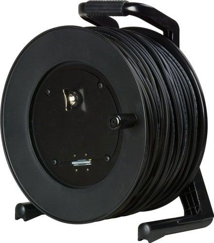 Camplex 2-Channel Fiber Optic Tactical Reel 500 ft Fiber Optic Cable with ST Connectors CMX-TR02ST-0500