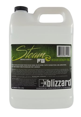 Blizzard Lighting STEAM-FG  1 Gallon of Medium Density Fog Fluid STEAM-FG