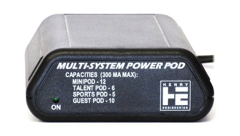 Henry Engineering Multi-System Power Pod Power Supply for Pod Series Products POWER-POD