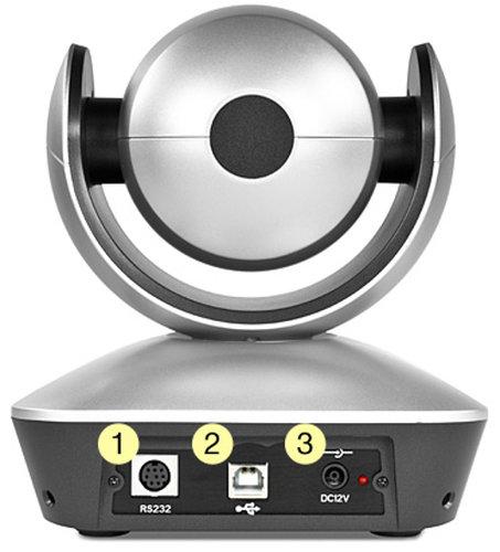 Marshall Electronics CV610-U2  10x Zoom USB2.0 PTZ and Conference Camera  CV610-U2