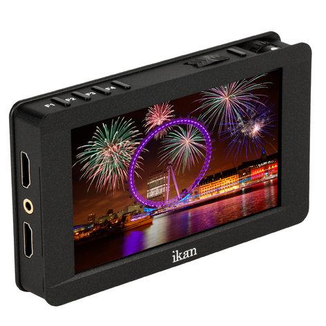 "ikan Corporation DH5e 5"" 4K HDMI On-Camera Monitor Deluxe Kit  DH5E-DK"