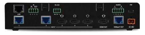 Atlona Technologies AT-UHD-SW-5000ED 4K 5-Input HDMI Switch with 2x HDBaseT In & HDMI/HDBaseT Out AT-UHD-SW-5000ED