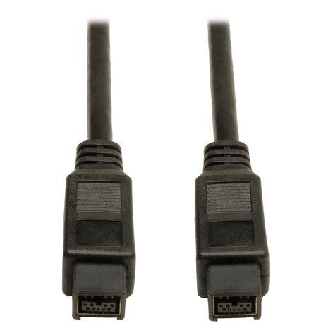 Tripp Lite F015-010  10 ft FireWire 800 IEEE 1394b Hi-Speed Cable (9pin/9pin M/M) F015-010