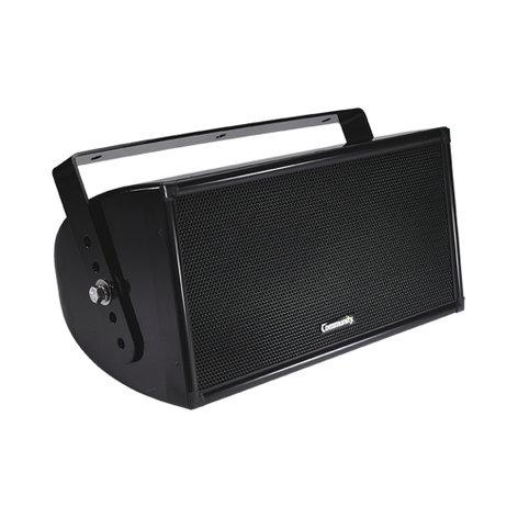 """Community W2-228 Quasi 3-Way Full-Range Composite Indoor/Outdoor Loudspeaker in Black with 8"""" Woofer, 600W Program W2-228"""