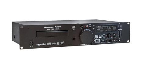 American Audio UCD-100 MKIII CD and USB Player UCD100-MKIII