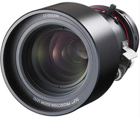 Panasonic ET-DLE250 2.4-3.7:1 Power Zoom Lens for PT-D6000 Series, PT-D5700/PT-DW5100/PT-D4000 Series Projectors ETDLE250
