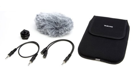 Tascam AK-DR11C Accessory Package for DR-Series Handheld Recorders AKDR11-C