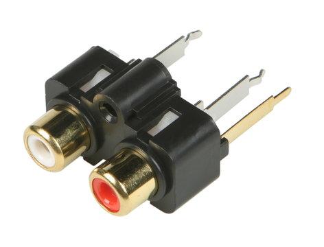 QSC CO-000371-00-1  RCA Phono Jacks for K12 CO-000371-00-1